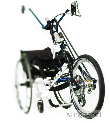 "BISON bike - Handbike ""light"""